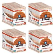 Rip Van Wafels Snickerdoodle Stroopwafels - Healthy Snacks - Non GMO Snack - Keto Friendly - Office Snacks - Low Sugar (3g) - Low Calorie Snack - 48 Pack