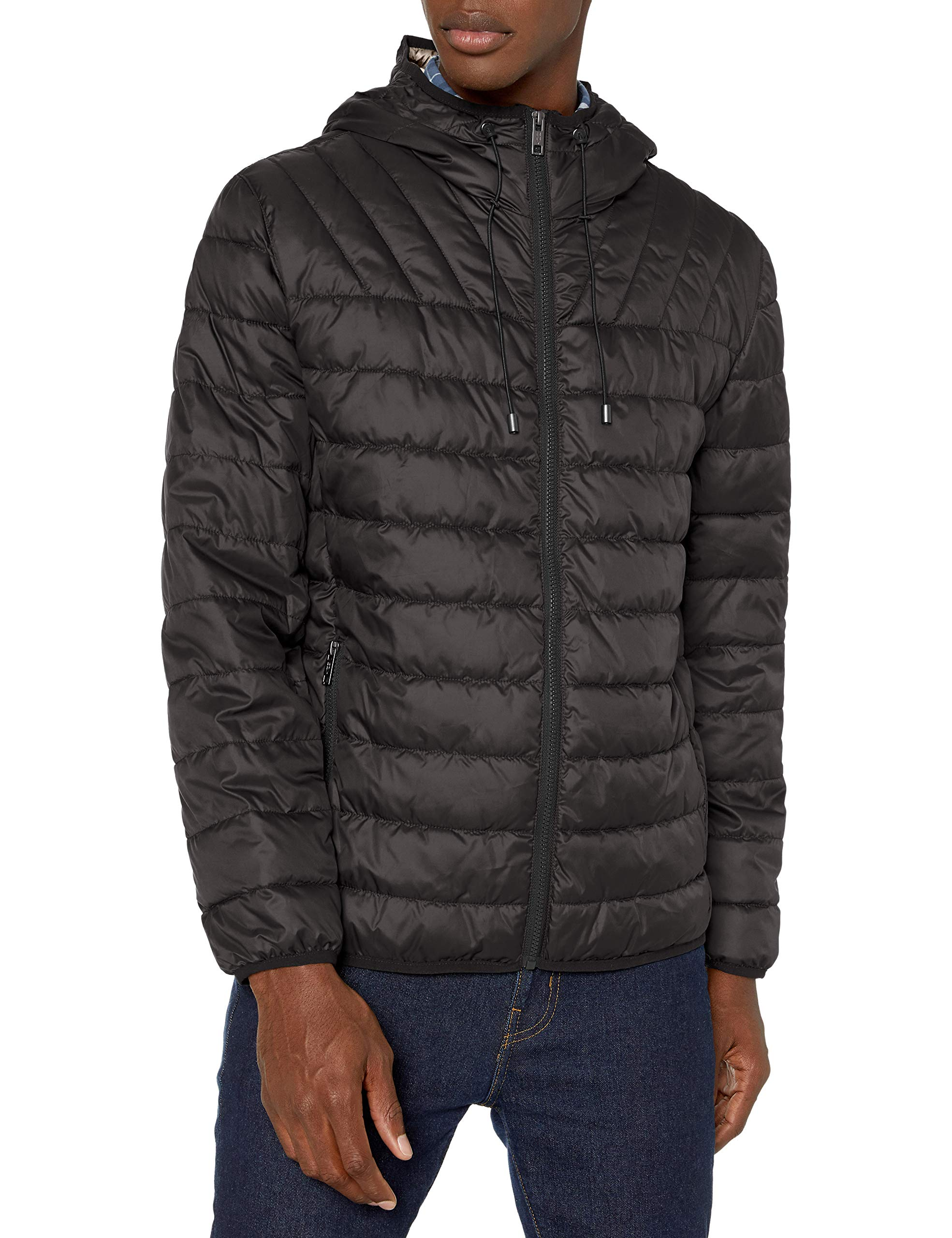Marc New York by Andrew Marc Men's Dunmore Hooded Puffer Jacket