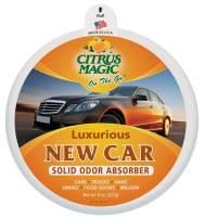 Citrus Magic On The Go Solid Air Absorber Luxurious New Car, 8-Ounce