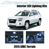 Xtremevision Interior LED for GMC Terrain 2015+ (10 Pieces) Cool White Interior LED Kit + Installation Tool
