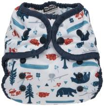 Thirsties Duo Wrap Cloth Diaper Cover, Snap Closure, Adventure Trail, Size 1 (6-18 lbs)