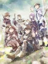 Wonderful Life A Japan Anime Poster - Hai to Gensou no Grimgar - Grimgar of Fantasy and Ash - Tin Poster Tin Sign 16x12 inch