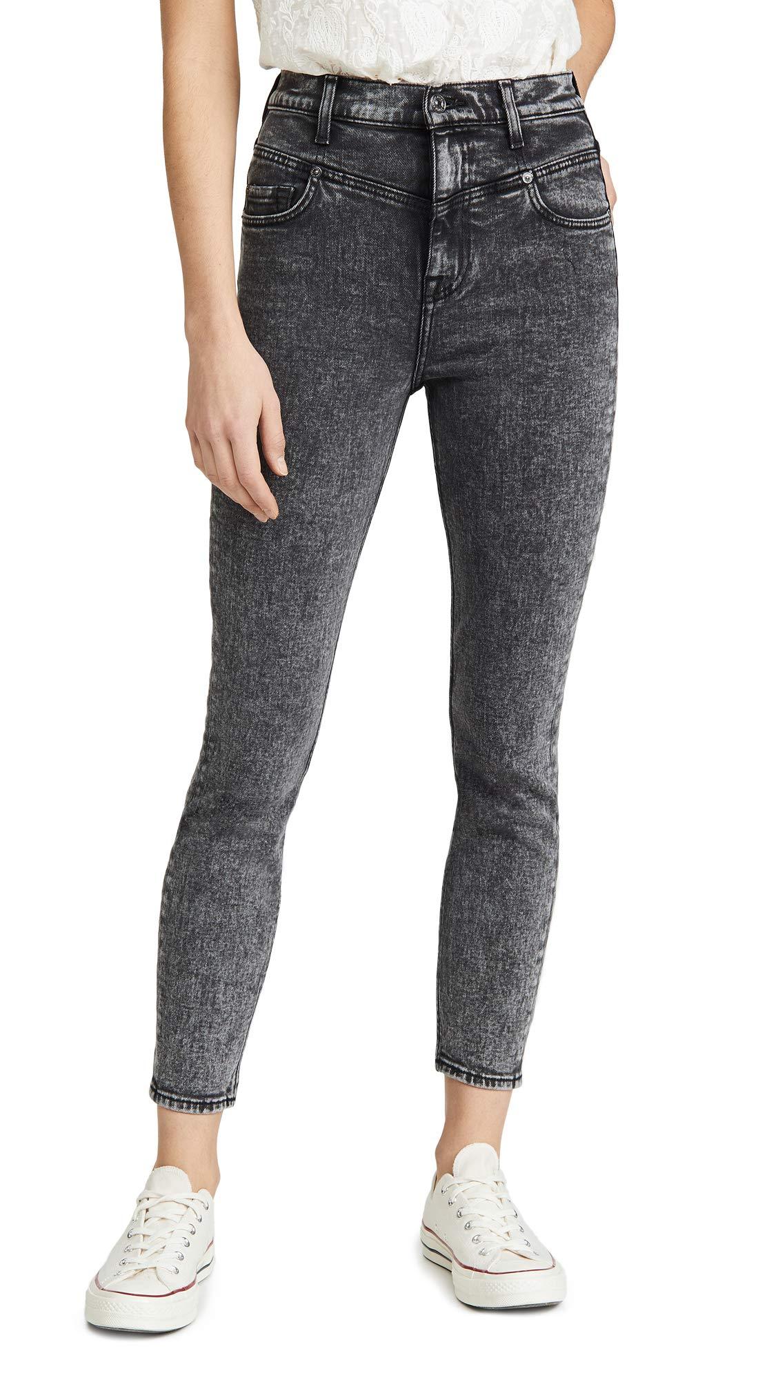 7 For All Mankind Women's Retro Corset Jeans