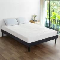 Olee Sleep 5 Inch Gel Adaptive Comfort Memory Foam Mattress (Full), White