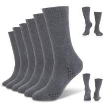 Men's Crew Socks Calf Socks Women Cotton Running Hiking Dress Athletic Trouser Moisturizing Socks