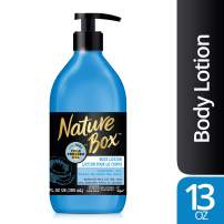 Nature Box Body Lotion - for Hydrated Skin, with 100% Cold Pressed Coconut Oil, 13 Ounce