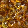 High Desert - Fire Glass Dots for Indoor and Outdoor Fire Pits or Fireplaces   10 Pounds   3/8 Inch