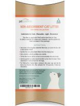 Non-Absorbent Reusable Cat Litter For Urine Collection - Used To Test For UTI, Kidney Failure and Diabetes In Cats - Pipette and Sample Tube Included