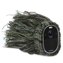 Wasserstein Outdoor Ghillie Skin Compatible with Arlo Essential Spotlight Camera - Conceal and Protect Your Arlo Essential Spotlight (1-Pack)
