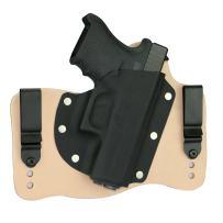 FoxX Holsters Glock 36 .45 IWB Hybrid Holster Tuckable, Concealed Carry Gun Holster