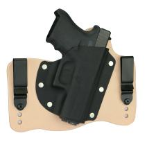 FoxX Holsters Glock 36 .45 IWB Hybrid Holster Tuckable, Concealed Carry Gun Holster