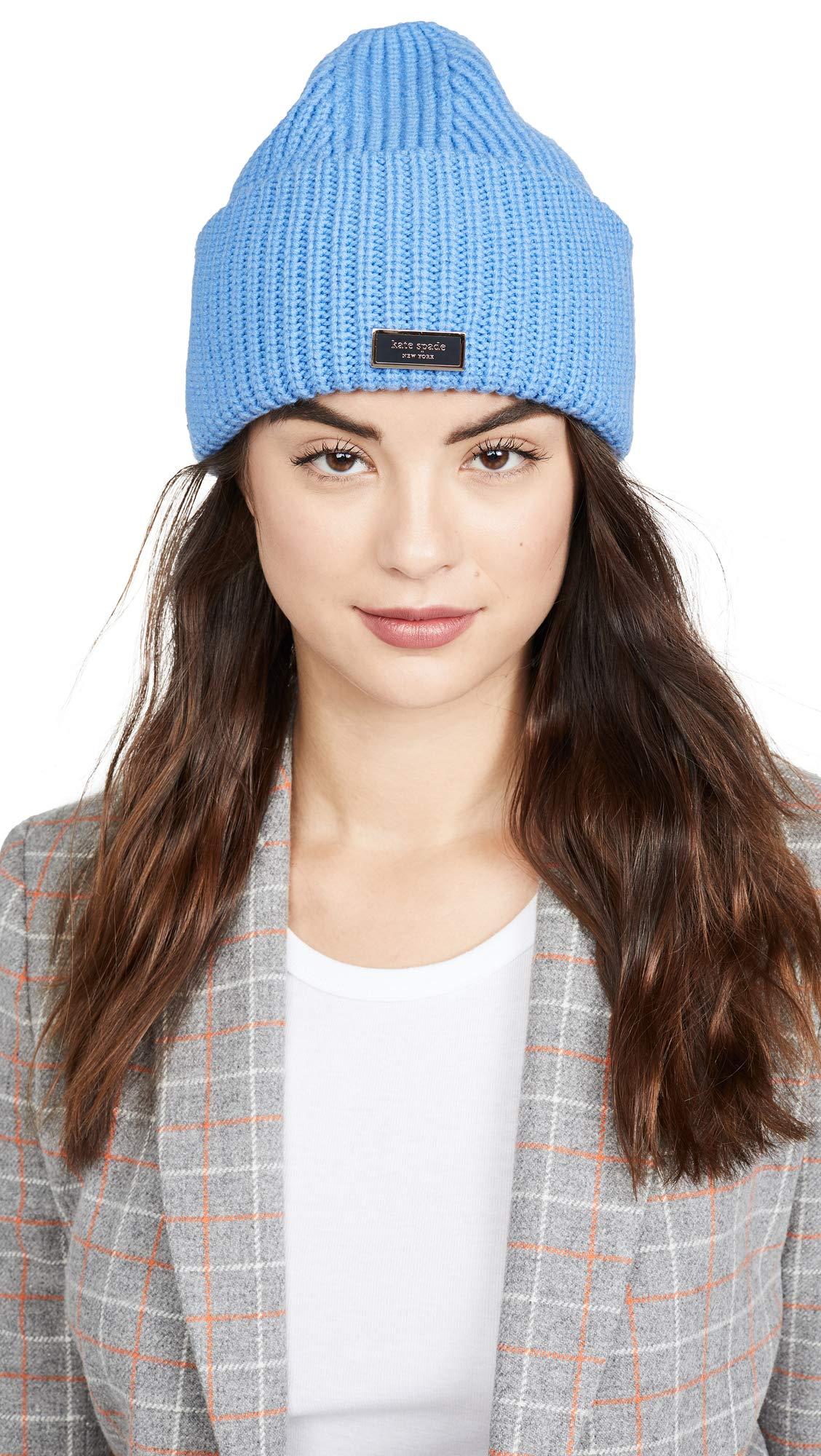 Kate Spade New York Women's Label Beanie
