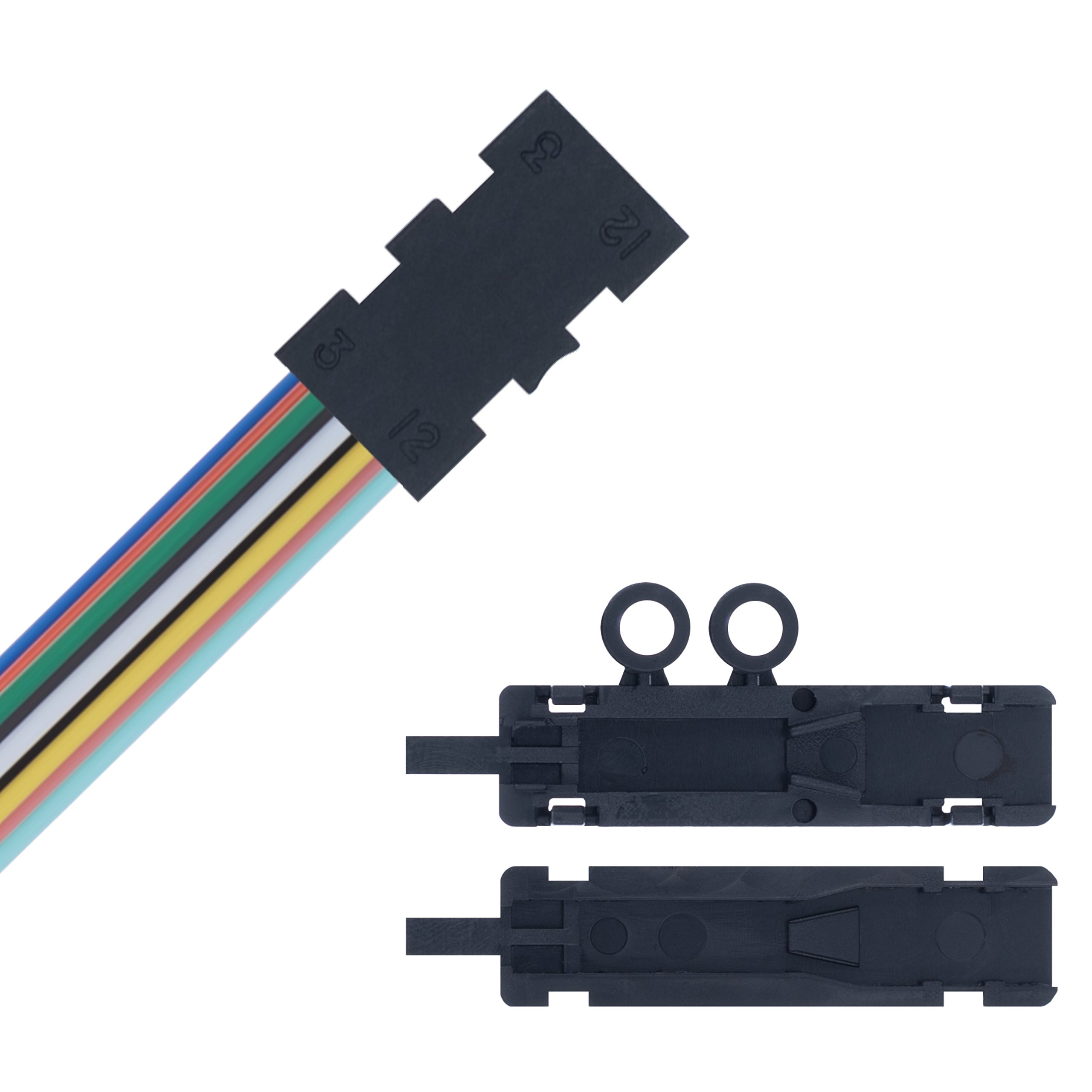 Fiber Optics Fan Out Kit - 12 Strand/Ribbon for Loose Tube Bulk Optical Fiber - 48 Inches Tubing - Beyondtech