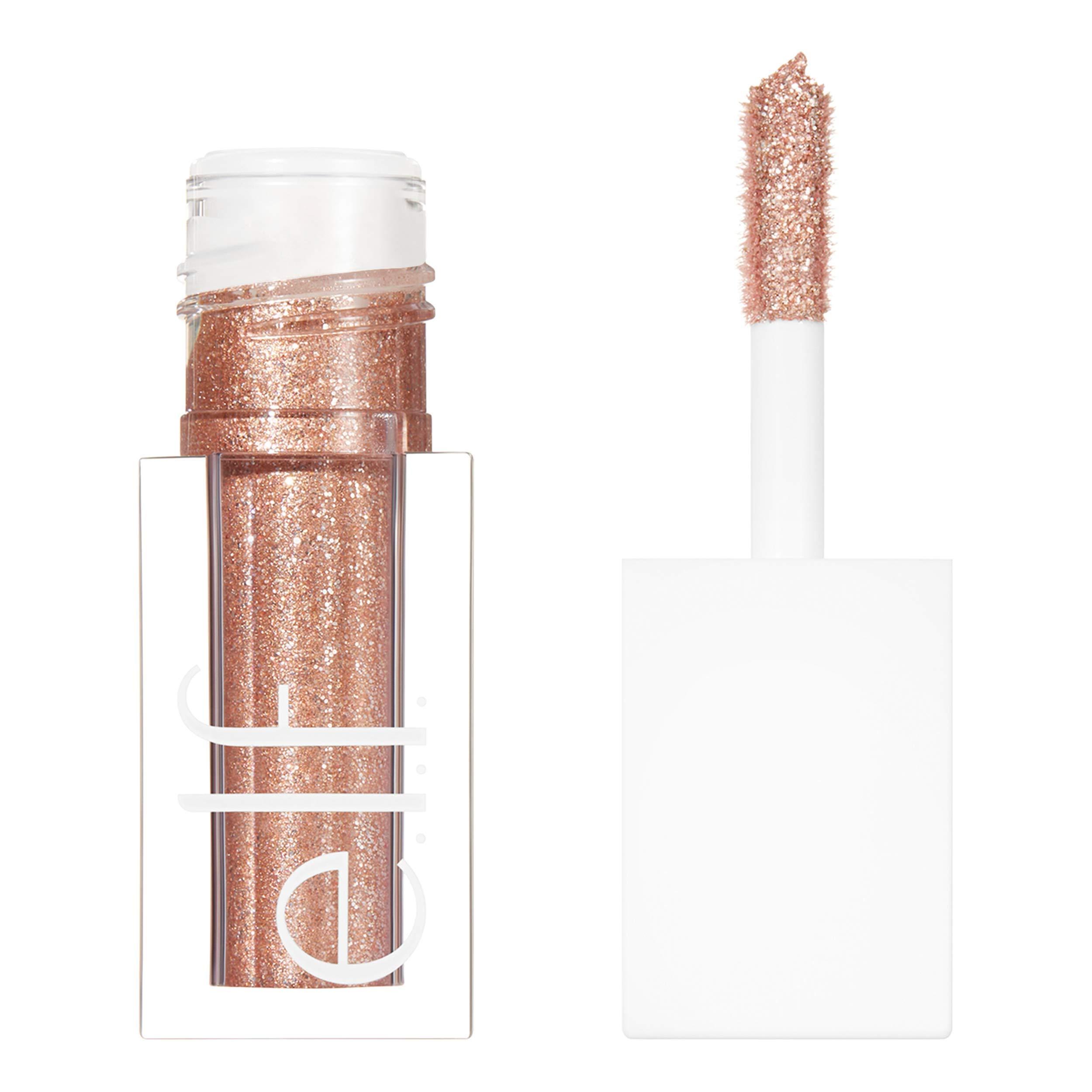 e.l.f. Cosmetics Liquid Glitter Gel Eyeshadow, Flirty Birdy, 0.10 Fl. Ounce, Flirty Birdy, 0.10 Fl Ounce