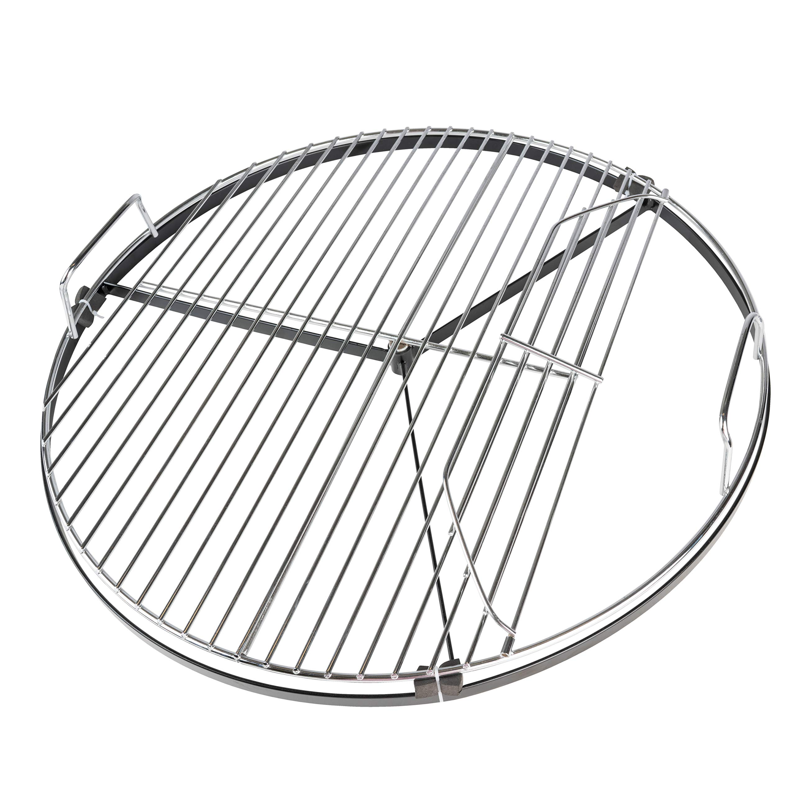 """BBQ Dragon Spin Grate Rotating Grill Grate for 22"""" Charcoal Grills - Instant Grill Grates Replacement for 22"""" Weber Grill Grate - Weber Grill Accessories from BBQ Dragon"""