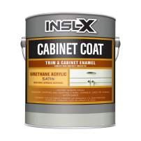 INSL-X CC550109A-01 Cabinet Coat Enamel, Satin Sheen Paint, 1 Gallon, White