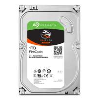 Seagate FireCuda 1TB Solid State Hybrid Drive Performance SSHD – 3.5 Inch Sata 6Gb/s Flash Accelerated Cache for Gaming PC Desktop (ST1000DX002)
