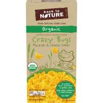 Back to Nature Organic Crazy Bugs Macaroni and Cheese, 6 oz Box (Pack of 12)