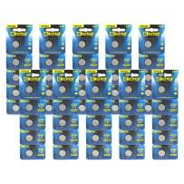 EEMB CR1632 3 V Battery Button Coin Cell Lithium Battery 120 mAh Battery Perfect UL Certified for Watches, Car Remote Key, Alarm Clock Toys (50PCS)