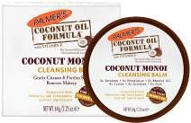 Palmer's Coconut Oil Formula, Coconut Monoi Facial Cleansing Balm & Makeup Remover   2.25 Ounces