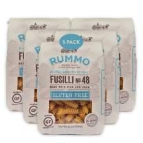 Rummo Italian Pasta GF Fusilli No.48, Always Al Dente, Certified Gluten-Free (5-Pack)