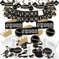 Big Dot of Happiness Hoco Dance - Homecoming Supplies - Banner Decoration Kit - Fundle Bundle