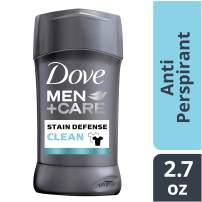 Dove Men+Care Stain Defense Antiperspirant Deodorant Stick, Clean, 2.7 Oz