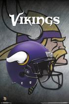 "Trends International NFL Minnesota Vikings - Helmet, 22.375"" x 34"", Premium Unframed"