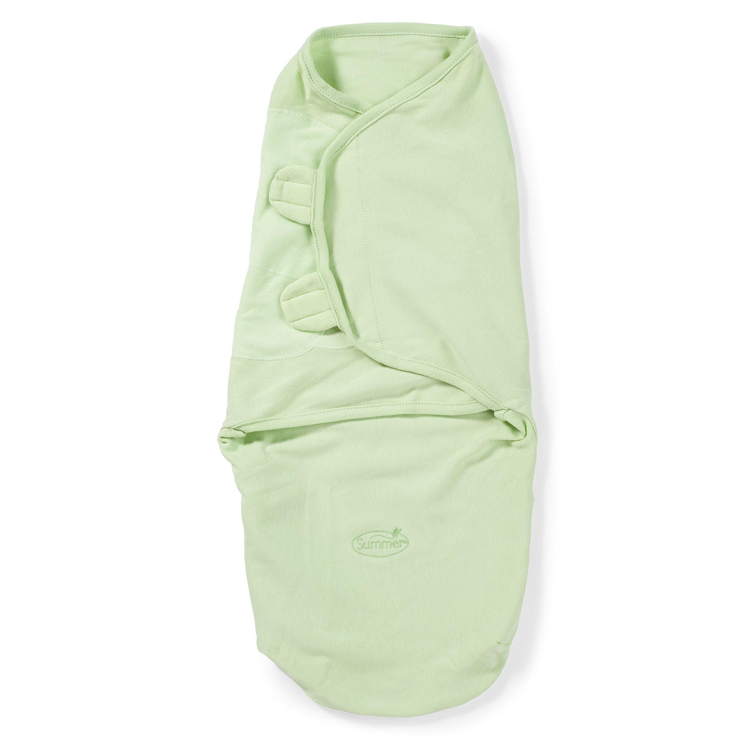 Summer Infant SwaddleMe Adjustable Infant Wrap, Sage, Large (Discontinued by Manufacturer)