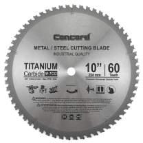 "Concord Blades MCB1000T060HP 10"" 60 Teeth TCT Ferrous Metal Cutting Blade"