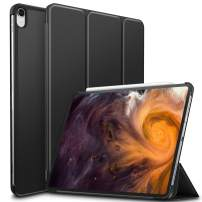 Infiland iPad Pro 12.9 2018 Case, Ultra Slim Tri-Fold Shell Case Cover Compatible with iPad Pro 12.9 Inch 2018 Release (Auto Wake/Sleep), Black