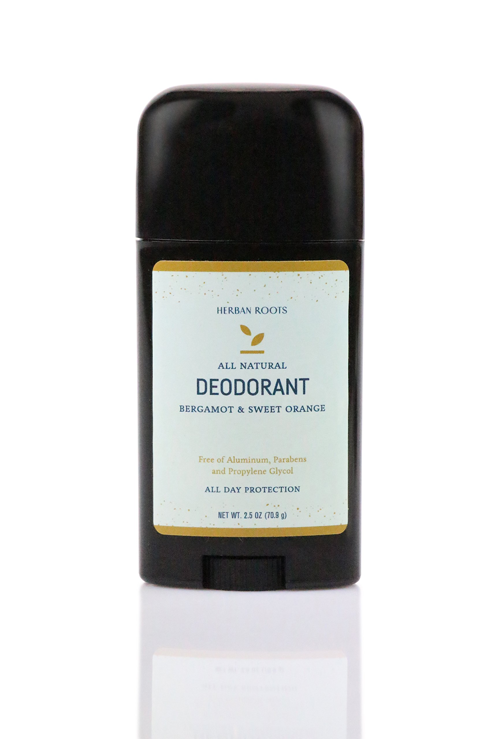 Bergamot & Sweet Orange - Organic Extra Strength Deodorant: Aluminum Free, Natural Ingredients, For Men and Women - Herban Roots