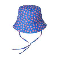 VAENAIT BABY Kids Unisex Sun Hat UPF 50+ Breathable Bucket Sun Protection Play Hat with Adjustable Chin Strap Mesh Lining