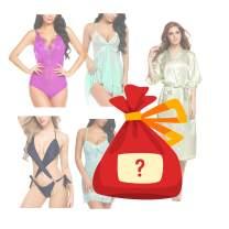 [Random Shipping Luckybag] Sexy Lingerie for Women Lace Babydoll Lingerie Teddy Bodysuit Sexy Sleepwear