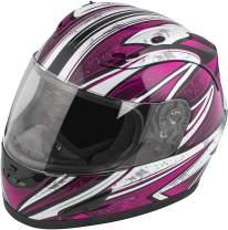 Raider Octane women's Pink Full-Face Motorcycle Helmet, Small