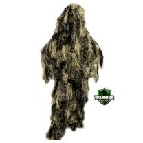 Arcturus Warrior Kids Ghillie Suit | Youth Camo Suit for Hunting, Airsoft, and Halloween | The Perfect Army Costume, Bushman Costume, or Sniper Suit