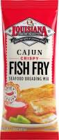 Louisiana Fish Fry, Cajun Fry, 10 oz (Pack of 12)