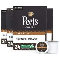 Peet's Coffee Major Dickason's Blend, Dark Roast, K-Cup Coffee Pods for Keurig Coffee Maker