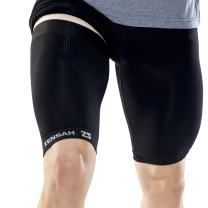 Zensah Thigh Compression Sleeve – Hamstring Support, Quad Compression Sleeve for Men and Women - Thigh Sleeve Wrap, Great for Running, Sports, Groin Pulls