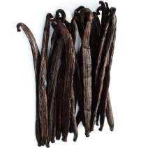 1/2 LB Vanilla Beans Grade A - Whole Gourmet Pods for Homemade Vanilla Extract, Baking, Brewing, Cooking, and Desserts - 8 Ounces (Tahitian)