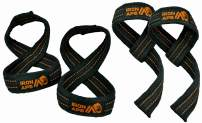 IRON APE Figure 8 Straps and Traditional Weightlifting Wrist Straps for Weight Lifting and Deadlift, Multi Pack, Cotton, 3 Sizes
