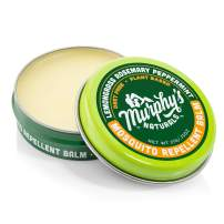 Murphy's Naturals Mosquito Repellent Balm | DEET Free with All-Natural Ingredients | Travel/Pocket Size | 0.75 oz