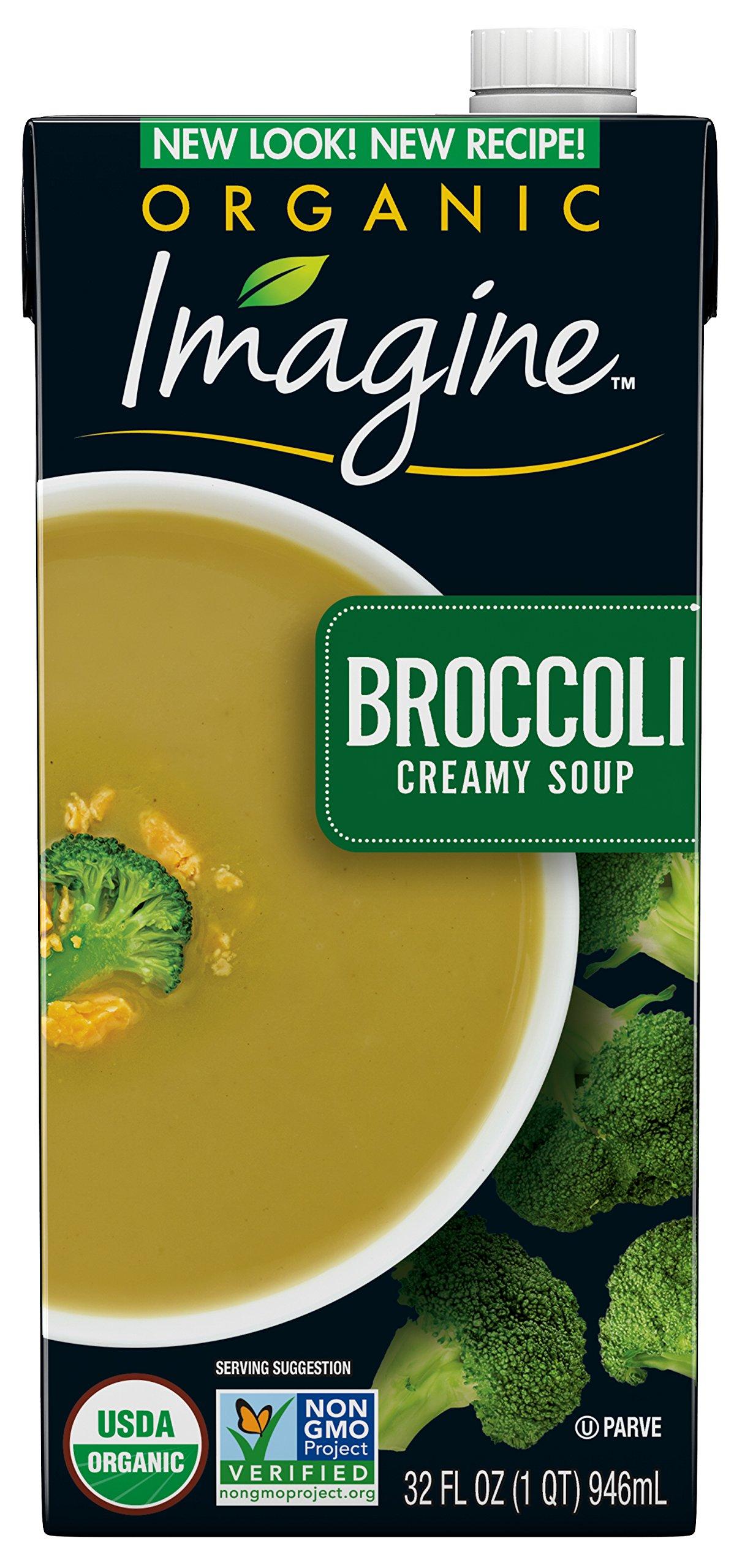 Imagine Organic Creamy Soup, Broccoli, 32 oz.