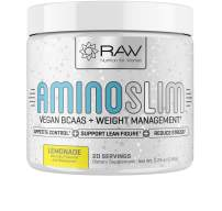 Amino Slim - Slimming BCAA Weight Loss Drink for Women, Vegan Amino Acids & L-Glutamine Powder for Post Workout Recovery & Fat Burning   Daily Appetite Suppressant, Metabolism Booster & Stress Relief