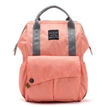 SoHo NoLita Diaper Bag Backback 3Pc - Coral