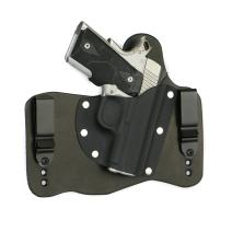 FoxX Holsters Springfield 1911 Ultra Compact .45 in The Waistband Hybrid Holster Tuckable, Concealed Carry Gun Holster
