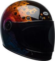 Bell Bullitt Special Edition Full-Face Motorcycle Helmet (Hart-Luck Gloss Metallic Bubbles Pink/Purple, X-Large)