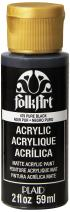 FolkArt Acrylic Paint in Assorted Colors (2 oz), 479, Pure Black