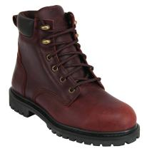 "KING'S 6"" Leather Steel Toe Work Boots (KCWB03)"