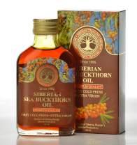 Siberian Sea Buckthorn Oil 100 Ml, Premium Quality, Extra Virgin, First Cold Press - 3.4 Fl Oz
